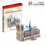 Cubic-Fun-S3012H Puzzle 3D Mini - Notre Dame, Paris