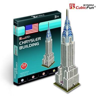 Cubic-Fun-S3013H Puzzle 3D Mini - Chrysler Building, New York