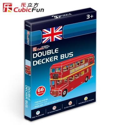 Cubic-Fun-S3018H Puzzle 3D Mini - Londoner Bus