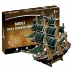 Cubic-Fun-S3031h 3D Mini Puzzle - Queen Anne's Revenge - Schwierigkeitsgrad: 2/8