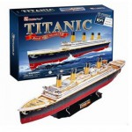 Cubic-Fun-T4011H Puzzle 3D - Titanic