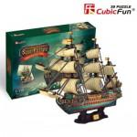 Cubic-Fun-T4017H 3D Puzzle - Die Spanische Armada: San Felipe - Schwierigkeitsgrad: 8/8