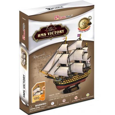 Cubic-Fun-T4019H 3D Puzzle - HMS Victory - Schwierigkeit: 5/8