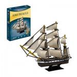 Cubic-Fun-T4027h 3D Puzzle - HMS Beagle (Schwierigkeit: 5/8)