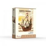 Cubic-Fun-T4031h 3D Puzzle - Santa Maria - Schwierigkeit: 4/6