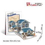 Cubic-Fun-W3117H 3D Puzzle World Style - Welcome to France