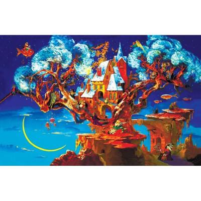 HCM-Kinzel-69112 HolzPuzzle - Der Wunschbaum