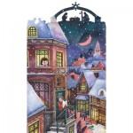 HCM-Kinzel-69125 Holzpuzzle - Weihnachtsengel