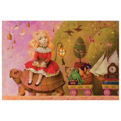 HCM-Kinzel-69134 Wooden Puzzle - The Way to the Birthday