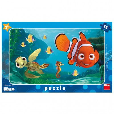 Dino-30120 Rahmenpuzzle - Nemo