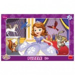 Dino-30122 Rahmenpuzzle - Sofia the First