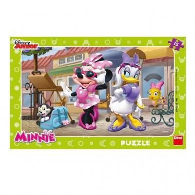 Dino-30126 Rahmenpuzzle - Minnie