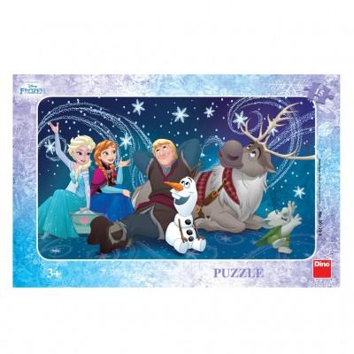 Dino-30129 Rahmenpuzzle - Frozen