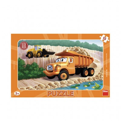 Dino-30130 Frame Puzzle - Tatra
