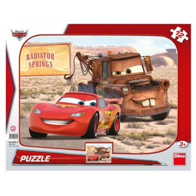 Dino-30307 Rahmenpuzzle - Cars 3