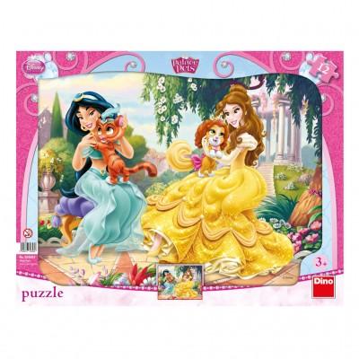 Dino-30308 Rahmenpuzzle - Disney Princess