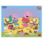 Dino-30311 Frame Puzzle - Peppa Pig