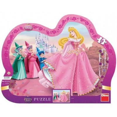 Dino-31117 Rahmenpuzzle - Disney Princess