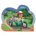 Dino-31121 Rahmenpuzzle - Disney: Handy Manny