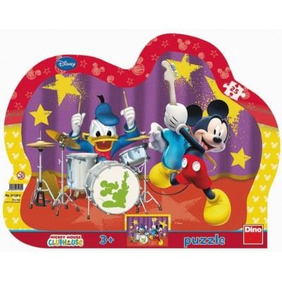 Dino-31130 Rahmenpuzzle - Mickey