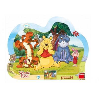 Dino-31132 Rahmenpuzzle - Winnie the Pooh