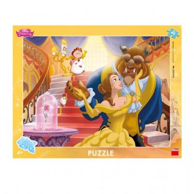 Dino-32215 Rahmenpuzzle - Disney Princess