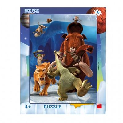 Dino-32216 Rahmenpuzzle - Ice Age