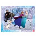 Dino-32217 Rahmenpuzzle - Frozen