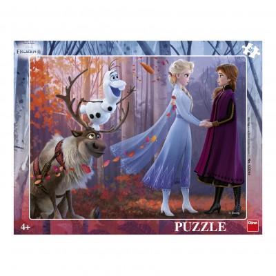 Dino-32224 Frame Puzzle - Frozen 2