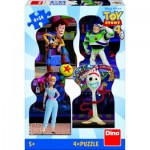 Dino-33322 4 Puzzles - Toy Story 4