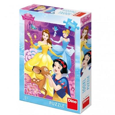 Puzzle  Dino-34344 XXL Teile - Disney Princess