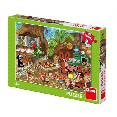 Puzzle Dino-34345 XXL Teile - The Little Mole