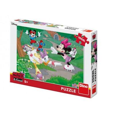 Puzzle Dino-34346 XXL Teile - Minnie