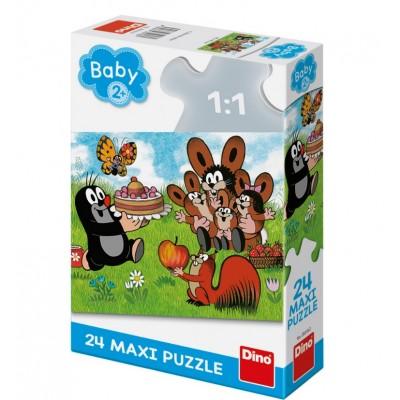 Puzzle  Dino-35018 XXL Teile - The Little Mole