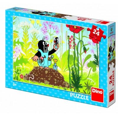 Puzzle Dino-35154 Der Maulwurf