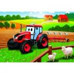 Puzzle  Dino-35162 Tractor