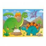 Puzzle  Dino-37130 Dinosaurier
