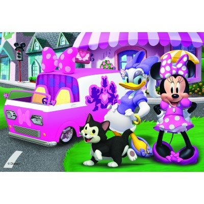 Puzzle  Dino-37132 Minnie und Daisy
