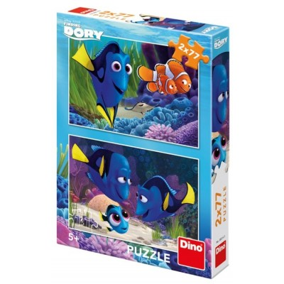 Dino-38614 2 Puzzles - Finding Dory