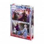 Dino-38617 2 Puzzles - Frozen 2