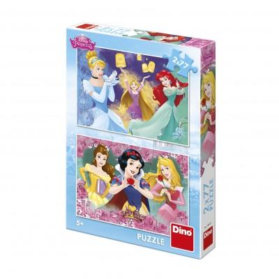 Dino-38618 2 Puzzles - Prinzessin