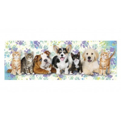 Puzzle  Dino-39327 Dogs & Cats