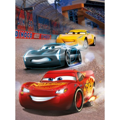 Dino-39413 Neon Puzzle - Cars