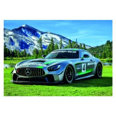 Puzzle  Dino-47225 XXL Teile - Mercedes AMG GT