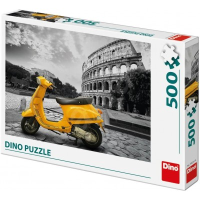 Puzzle  Dino-50231 Roller im Kolosseum