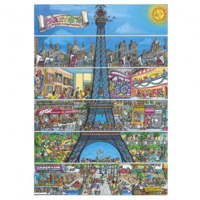 Puzzle Dino-50237 Paris, Frankreich