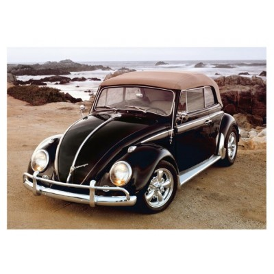 Puzzle Dino-50242 VW Beetle on Beach
