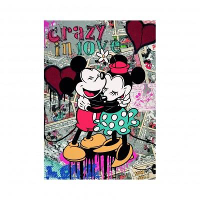 Puzzle Dino-50254 Retro Mickey Mouse
