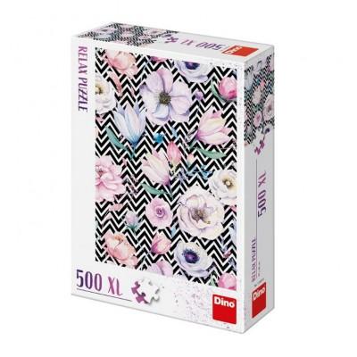 Puzzle  Dino-51405 XXL Teile - Blumen