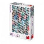 Puzzle  Dino-51406 XXL Teile - Gefieder